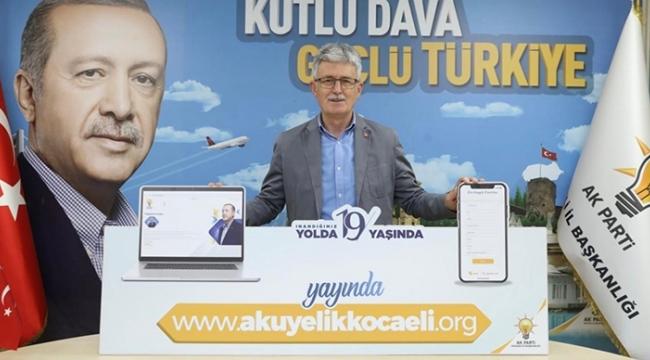 AK Parti'de 'Pandemi'ye uygun üye çalışması