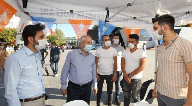 AK Parti Gebze, Gençlik kollarıyla sahada