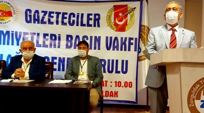 Altun, Gebze Gazeteciler cemiyeti de Basın Vakfı üyesi oldu
