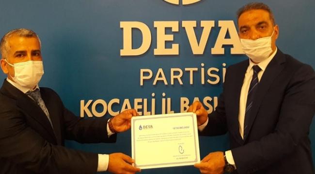 DEVA Partisi Dilovası atandı