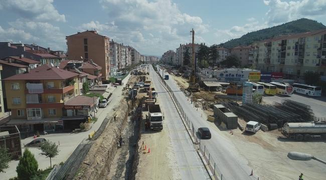 Karamürsel Köprülü Kavşağı'nda altyapı imalatına başlanacak