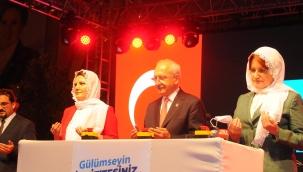 Kılıçdaroğlu ve Akşener, İzmit'te araç tanıtımı ve açılış törenine katıldı