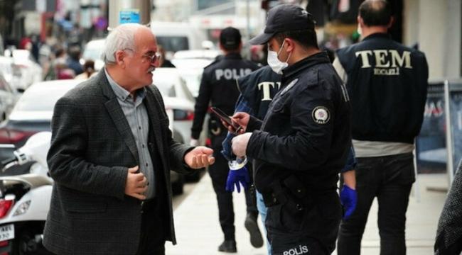 Kocaeli'de 77 kişiye ceza yazıldı