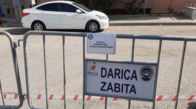 Kocaeli'de bir sokak daha karantinaya alındı!
