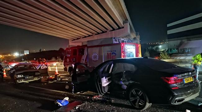 Kocaeli'de korkunç kaza: 3 ölü, 4 yaralı!