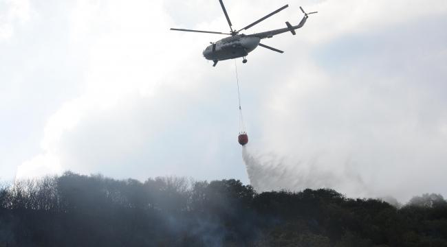 Orman yangını şüphelisi: Yere düşen çakmağın sıcaktan patlamasıyla yangın çıktı