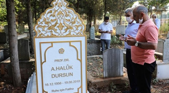 Prof. Dr. Haluk Dursun unutulmadı