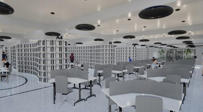 Son teknoloji kent kütüphanesi geliyor
