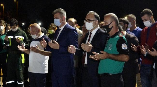 Vali Yavuz'dan deprem anmasında 'koronavirüs' uyarısı