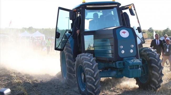 Yerli traktör Kocaeli'de üretiliyor!