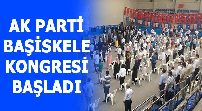 AK Parti Başiskele Kongresi başladı