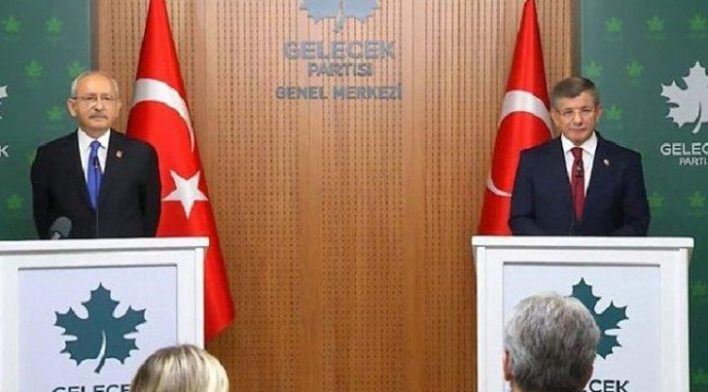 Davutoğlu ve Kılıçdaroğlu'ndan 'seçim ittifakı' açıklaması…