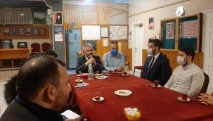 Trabzonlu gençler Kaya'yı ağırladı