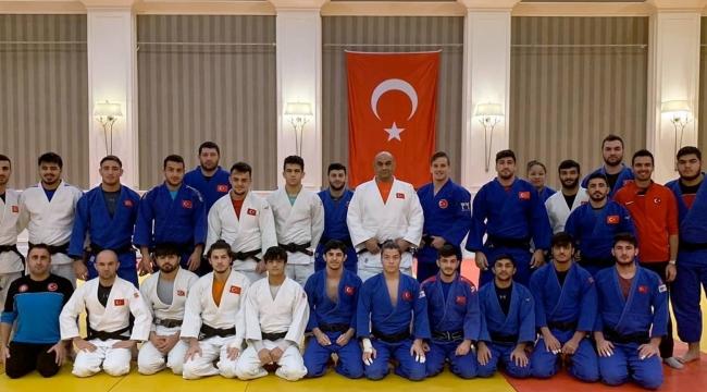 Judocular, kardeşlerimizle ortak kampta