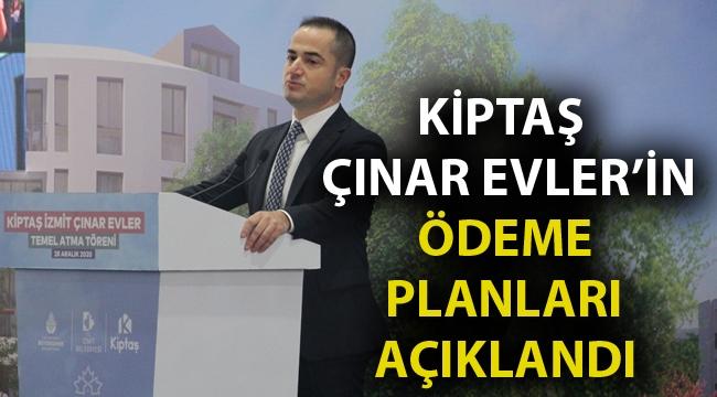 KİPTAŞ Çınar Evler'in ödeme planları açıklandı