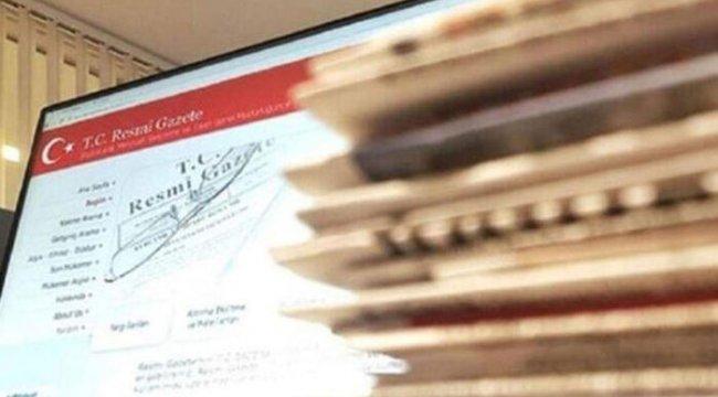 Uyuşmazlık Mahkemesi seçimlerine ilişkin karar Resmi Gazete'de