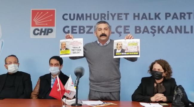Orhan, AK Parti'ye yüklendi!