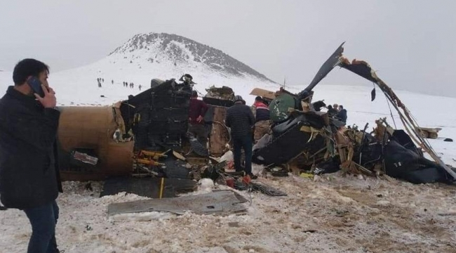 Türkiye'yi yasa boğan helikopter kazasında yeni gelişme