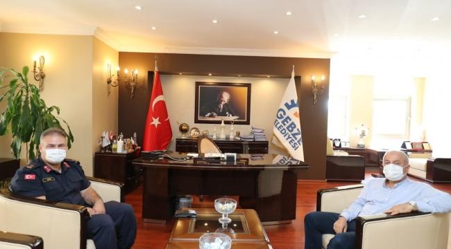 Başkan Büyükgöz'e Kural ve Eke'den ziyaret