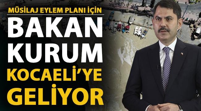 Deniz Salyası Eylem Planı Kocaeli'de açıklanacak!