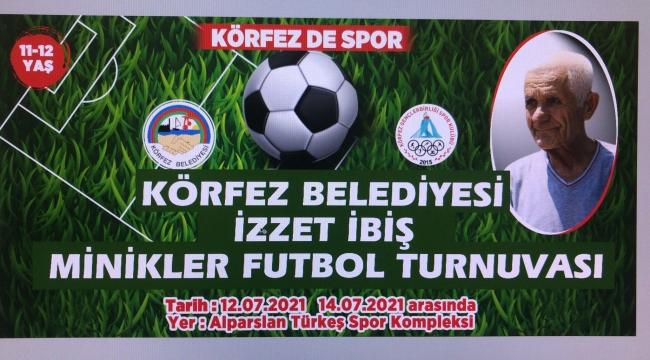 Körfez'de İzzet İbiş anısına futbol turnuvası