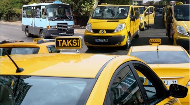 750 minibüs ve 250 dolmuşun taksiye dönüşüm süreci başladı