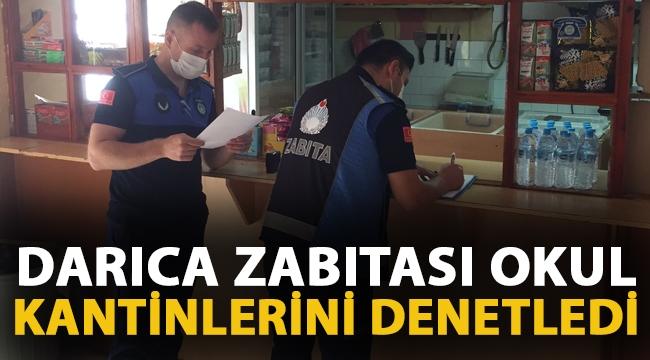 Darıca'da zabıta ekipleri okul kantinlerini denetledi