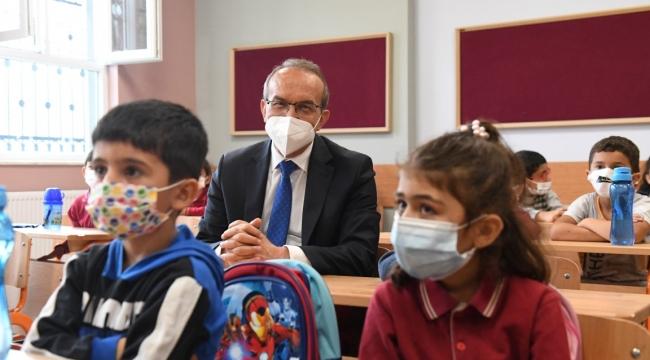 Eğitimdeki Pandemi tedbirlerine sıkı takip!
