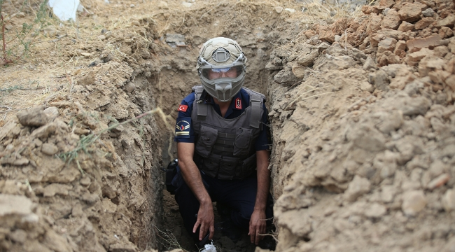 El bombası ekipler tarafından imha edildi