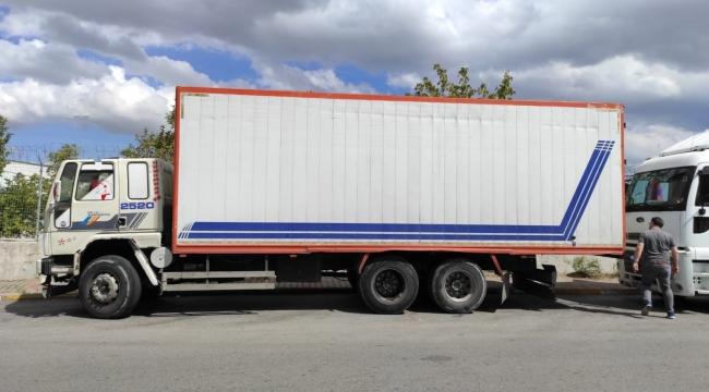 Gebze'nin kamyon hırsızı İstanbul'da enselendi!