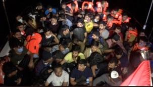 Teknede 58 kaçak göçmen yakalandı!