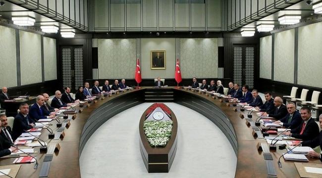 Türkiye'nin gözü kabine toplantısında!