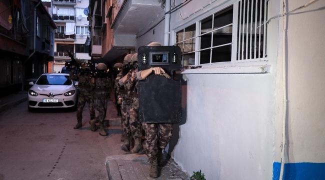 Uyuşturucuya karşı şafak operasyonunda 62 tutuklama
