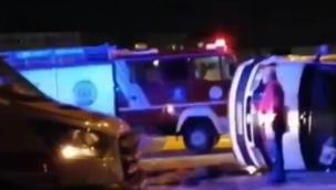Gebze'de trafik kazası: 1'i ağır 3 yaralı!